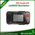 Lanzamiento X431 CREADER VIII lector de código CRP129 escáner herramienta de diagnóstico del coche