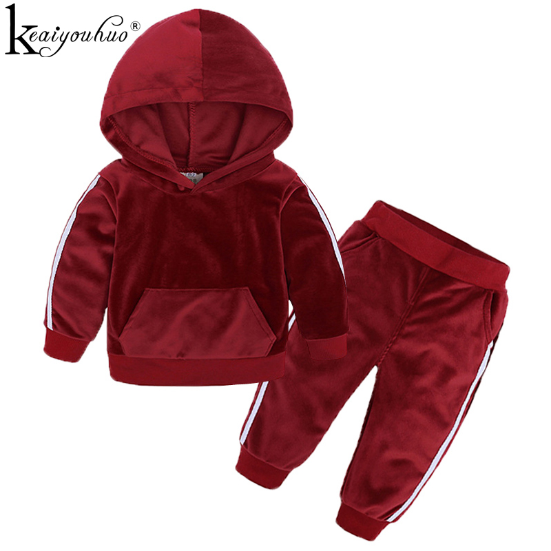 2019 Kids Clothes Sets Spring Toddler Boy Clothes Baby Girl Outfit Long Sleeve Cotton Girls Sport Suit Children Clothing Boy Set