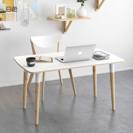 Computer Desks Laptop Stand Table Office Home Furniture Solid Wood Study  Table Notebook Desk Soporte Notebook Minimalist Modern In Laptop Desks From  ...