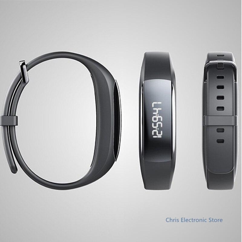 imágenes para Mesuvida Original Lenovo HW01 Bluetooth 4.2 Pulsera Inteligente Podómetro Rastreador De Fitness Deportes de Ritmo Cardíaco Moniter para Android iOS
