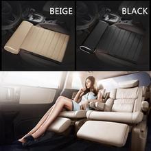 Универсальное автокресло подушка для ног Поддержка подушка для ног кожа памяти наколенник из пены бедра Поддержка аксессуары для интерьера автомобиля