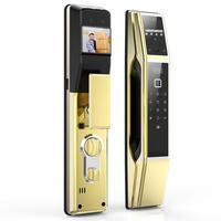 Electronic Keyless Fingerprint Password Digital Door Lock Smart Home