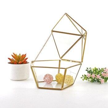 Divers Irrégulier Verre Géométrique Succulent Planteur Vase Terrarium Conteneur Table Pot Bricolage Maison Bureau Mariage Décor