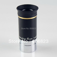 Big sale New 1.25″ F6mm 66 Degree Wide Angle Eyepiece for Telescope