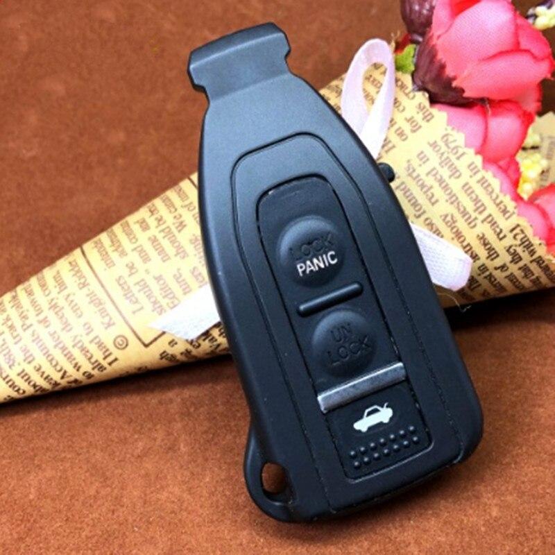 DAKATU без логотипа замена Смарт пульт дистанционного ключа оболочки чехол 3 кнопки для старого LEXUS LS430 дистанционного FOB чехол s крышка