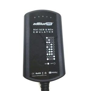 Image 2 - AdBlue boîtier de système émulateur 9 en 1, pour hommes, MB/SCANIA/IVECO/DAF/VOLVO/RENAULT/CUMMINS AdBlue, 9 en 1 SCR & NOX A + puce complète
