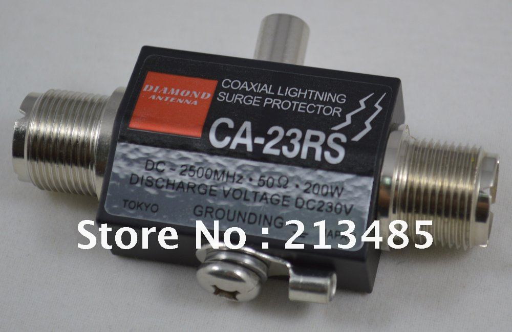DIAMOND CA-23RS Coaxial Lighting Surge Protector/Arrester