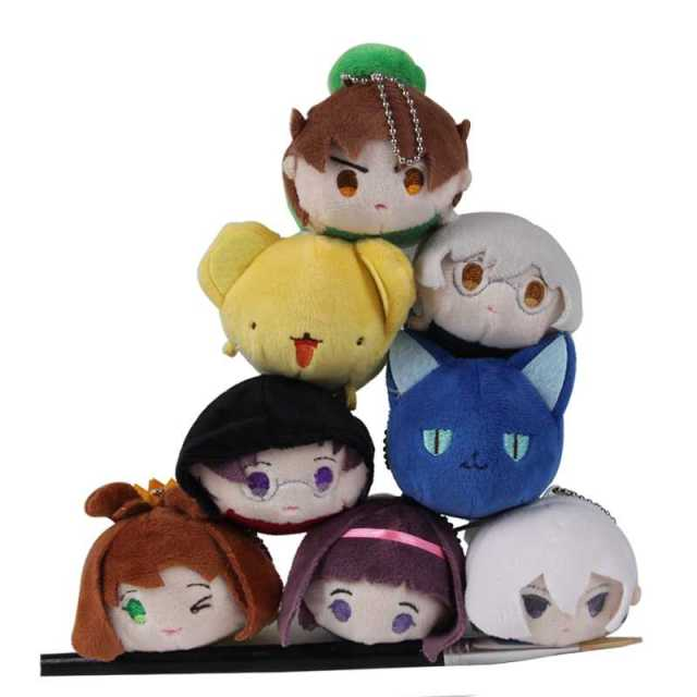 2017 Sale Baymax Anime Mini Tsum Cardcaptor Sakura Keychain Toys 9cm Screen Cleaner Phone Accessories Wipe Kawai Dolls Pendant