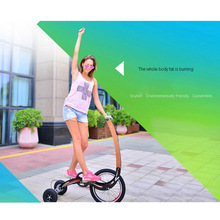 half bike tricycle running body building machine bicycle