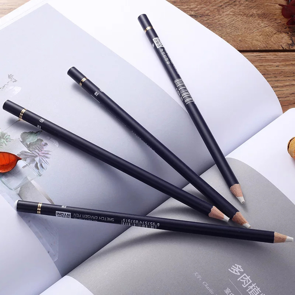 Nyoni highlight pen style elastone eraser pencil rubber revise details highlight modeling for manga design drawing art supplies in eraser from office