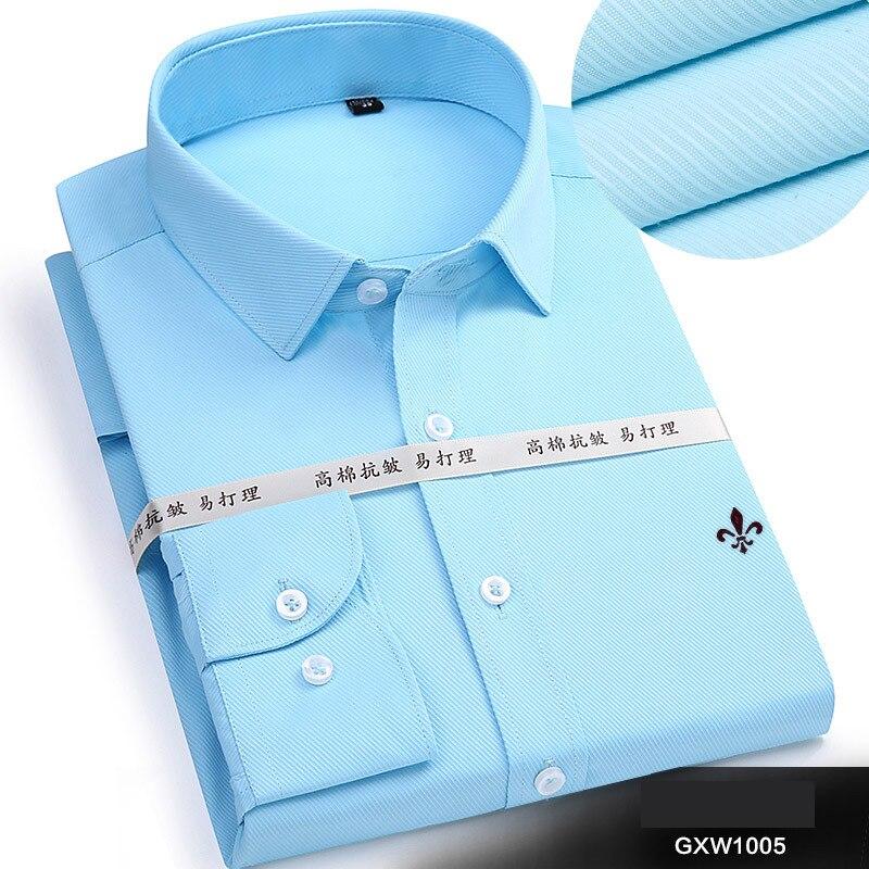 Dudalina 2020 Brand Men Shirt Male Dress Shirts Men's Fashion Casual Long Sleeve Business Formal Shirt Camisa Social Masculina 6