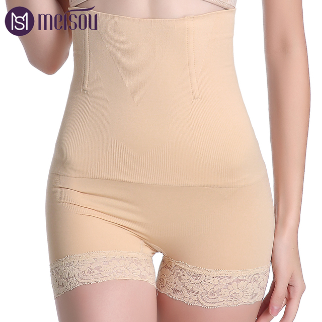 f1440845e91cd Control Pants Women High Waist Body Shaper Panties seamless tummy Belly Waist  Slimming Shapewear Girdle Underwear Waist Trainer