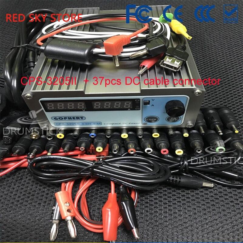 Gophert CPS-3205 CPS-3205II DC alimentation à découpage sortie unique 0-32 V 0-5A 160 W réglable