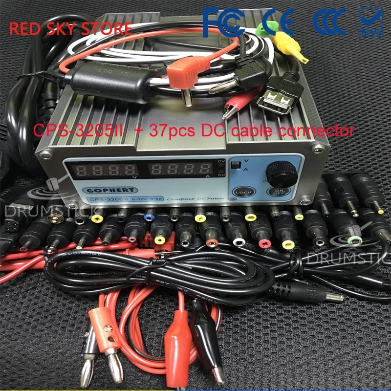 Gophert CPS-3205 CPS-3205II DC fuente de alimentación de conmutación Salida 0-32 V 0-5A 160 W ajustable