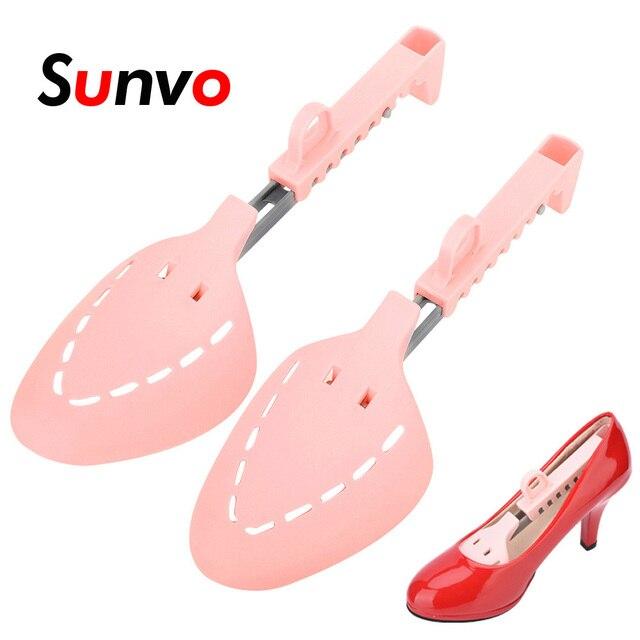 Sunvo พลาสติกรองเท้าปรับความกว้าง Extender Shaper Boot อุปกรณ์เสริมป้องกัน Crease รองเท้าเครื่องมือผู้ชายผู้หญิง