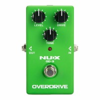 NUX OD 3 Overdrive Pedal Guitar Effect True Bypass Natural Overdrive Sound Electric Guitar Pedal Accessories Musical Instruments