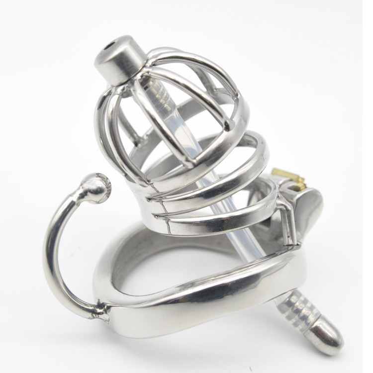 Stainless-Steel-Male-Chastity-Small-Cage-with-Base-Arc-Ring-Devices-C275 (1)