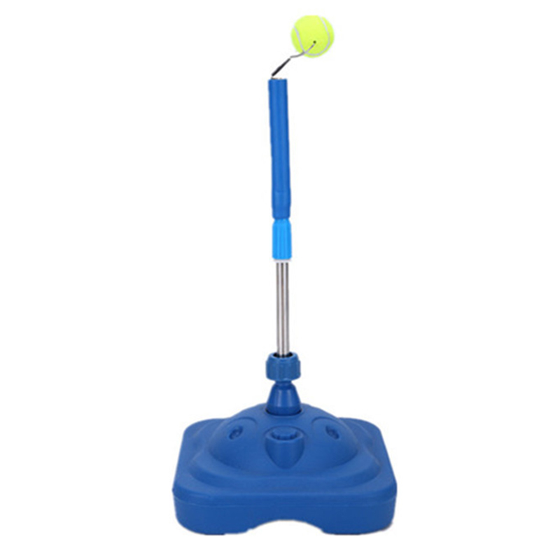 Tennis Trainer Adults Children Adjustable Training Tool Fixed Swing Padel Racket Practice Accessories Ball Machine For BeginnersTennis Trainer Adults Children Adjustable Training Tool Fixed Swing Padel Racket Practice Accessories Ball Machine For Beginners