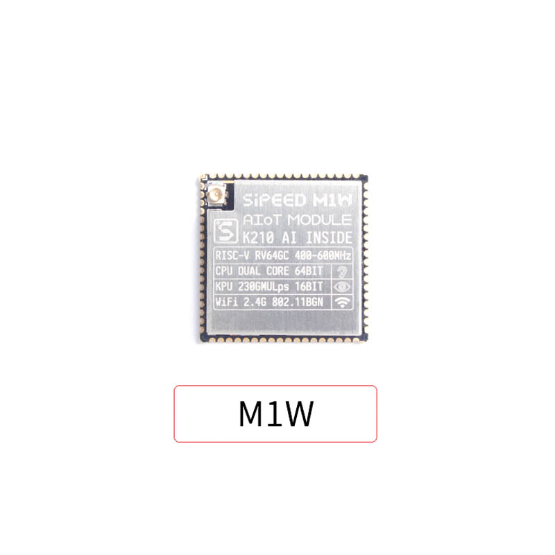 Sipeed M1W ESP8285 WIFI AI Core Board Development Board K210 Deep Learning Microphone Array Vision Smart Home