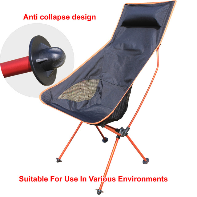 Portátil 4 cor Cadeira Ao Ar Livre e Cadeira de Jardim Cadeira Dobrável Lua e Relaxar Cadeira