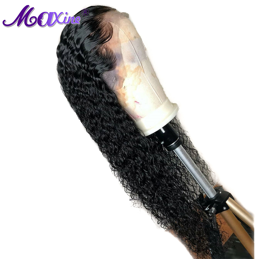 Maxine Hair Water Wave Wig Lace Front Human Hair Wigs For Black Women Pre Plucked With