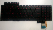 Asus ROG laptop keyboard