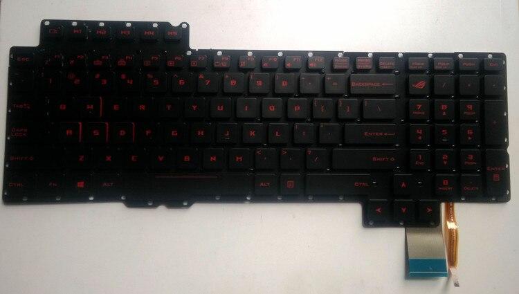 New Laptop For Asus ROG G752 G752VT G752VL G752VY G752VT DH72 Gaming Laptop US Keyboard Backlit