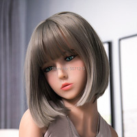 Sex Doll Head Oral Sex Love doll tpe With Sexy Thick Lips for 135 176cm Body