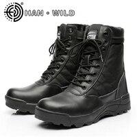 Alle Saison Männer Kampfstiefel Stiefel Schuhe Männlichen Taktik Stiefel Special Force Wüste Schuhe Militärische Taktische Stiefel Sapatos Masculino