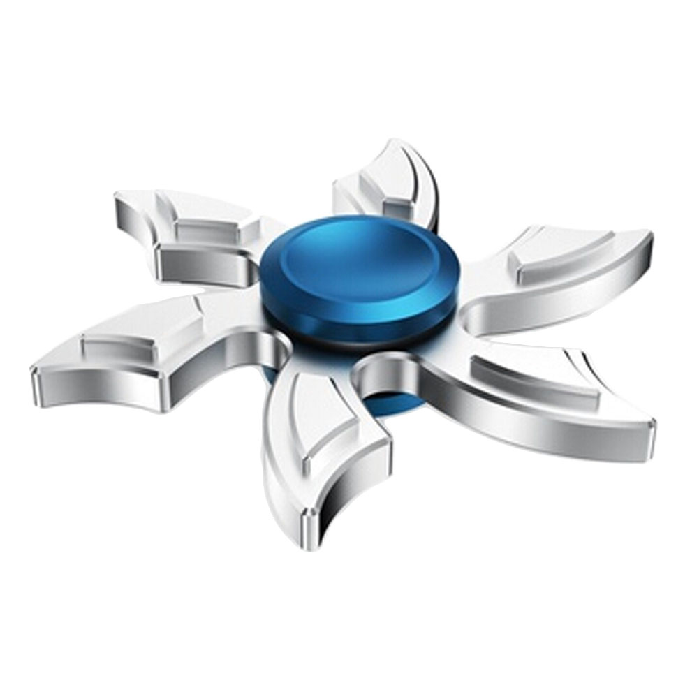 Six leaf Fingertips Hand Spinner Steel Bearing Fidget Spinners Autism And ADHD Kids Toys