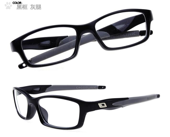 1b35bde5873 Fashion Optical Student myopia strong Glasses Frame motion Transparent  Spectacle Flexible and firm Frame Eyeglasses Eyewear 8029-in Eyewear Frames  from ...