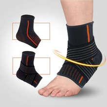 1 Pair Knitting Ankle Support Men and Women Basketball Football Sports Ankle Bandage Elastic Protect Foot Ankle Equipment