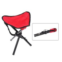 2018 Ultralight Portable Folding Chairs Tripod Chair Camping Fishing Stool  Lightweight Seat for Outdoor Picnic BBQ Beach