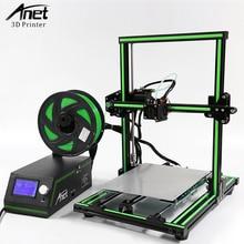 все цены на Anet E12 E10 A8 A6 3D Printer kit FDM Desktop 3D Printers High Precision DIY Reprap i3 impresora 3d with 10M/1KG PLA Filament онлайн