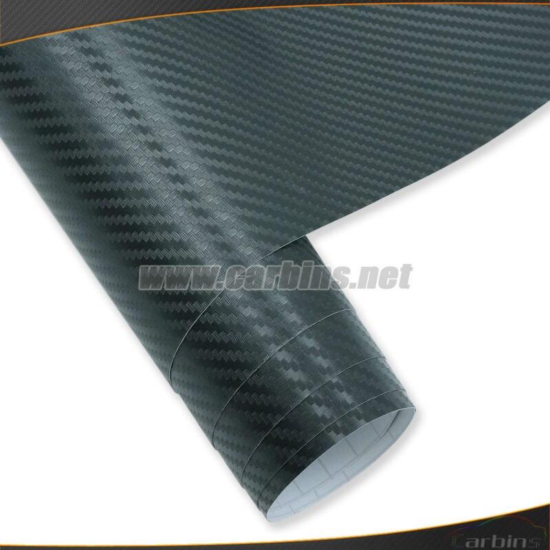 3D carbon fiber vinyl film, carbon decorative film, auto film, air bubble free quality 1.52*28m size