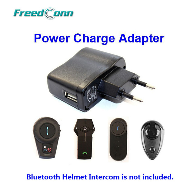 power charger adapter accessories suit for t com freedconn colo kie bluetooth motorcycle helmet intercom - Free Colo