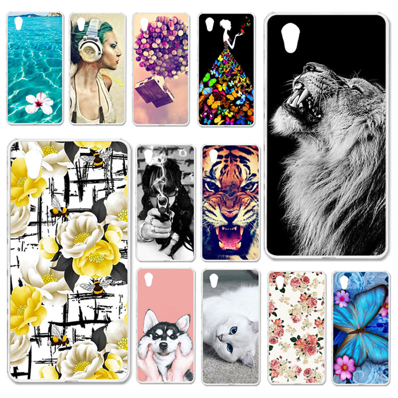 TAOYUNXI Cases For <font><b>Sony</b></font> Xperia Z5 Case For <font><b>Sony</b></font> Z5 E6603 E6653 Dual <font><b>E6633</b></font> E6683 5.2 inch Soft Silicone Back Covers Painted Bags image