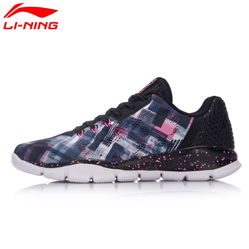 Li Ning Women s Quick XT Running Shoes Cushioning Breathable LiNing Sneakers Light Sports Shoes ARKM026