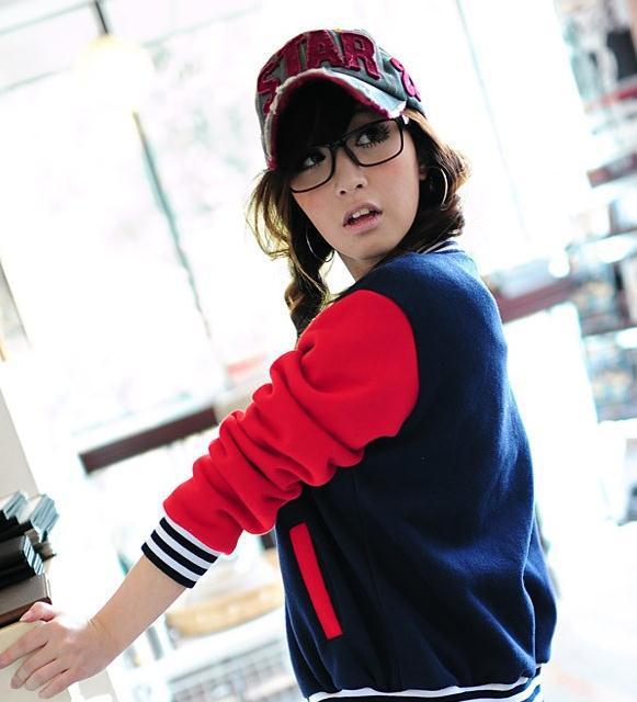 Letter Plus Velvet Plus Size Sweatshirt Female Cardigan Baseball Jacket Women Cotton Coats