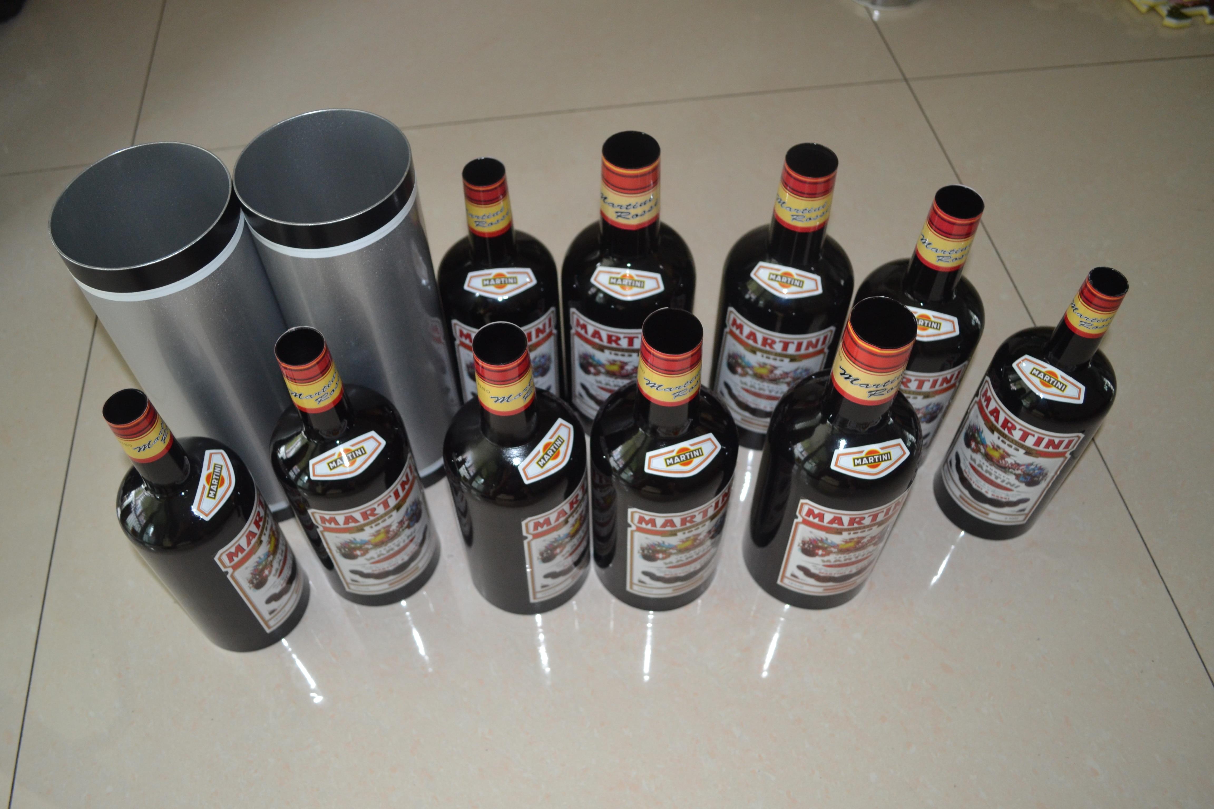 En multipliant Bouteilles/Déplacement Croissant noir Bouteilles (10 bouteilles Purifiée Liquide) tours de magie Scène Gimmick Mentalisme Illusion Magia - 4