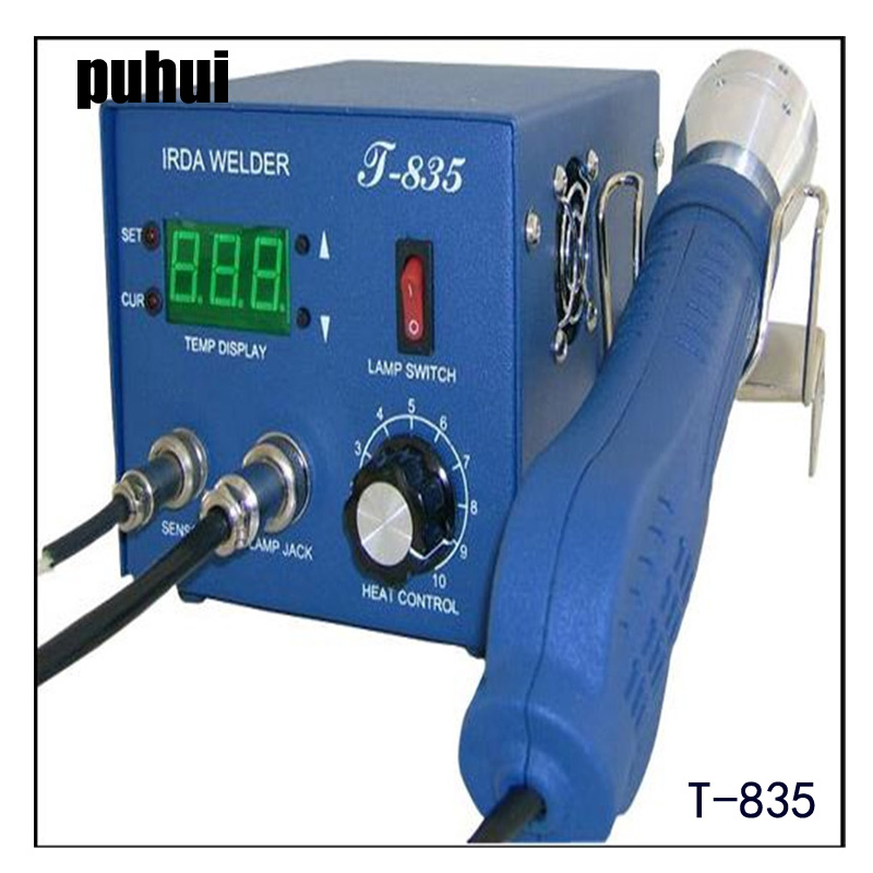 PUHUI 110V/220V T835/ T-835 Infrared BGA Soldering and Desoldering SMD Rework Station BGA IRDA WELDER kipling r kipling the man who would be king