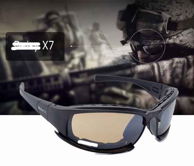 1c8a041996c Cheap Outdoor Sport UV Protection Sunglasses Cycling Eyewear Motocycle  Bicycle Goggles Military Tactical Hunting Shooting Glasses