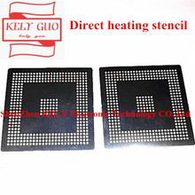 Direct heating EDC7/EDC16 MPC561/562/555 MPC562MZP56 MPC561MZP5 for BGA CPU chip bumping with steel mesh 0.6MM stencil Template