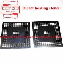 直接加熱edc7/edc16 mpc561/562/555 MPC562MZP56 MPC561MZP5用bga cpuチップバンピングでスチールメッシュ0.6ミリメートルステンシルテンプレート