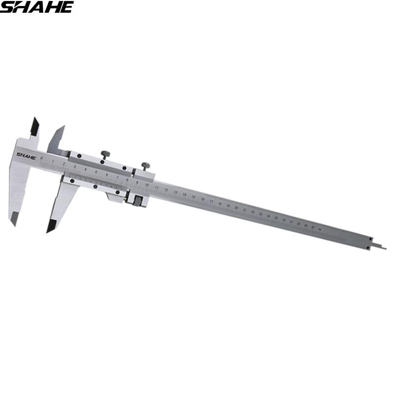 SHAHE 300mm vernier caliper stainless steel caliper measure tool caliper vernier 300mm