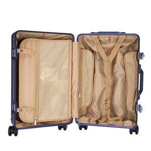 """Image 5 - CARRYLOVE 20 """"24"""" pulgadas spinner llevar en maleta de viaje Carro de cabina de aluminio equipaje rodante en la rueda"""