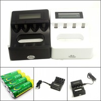 4PCS BTY AA 2500Mah Ni MH High Capacity Rechargeable Batteries C704A4 AA AAA Smart Charger Micro