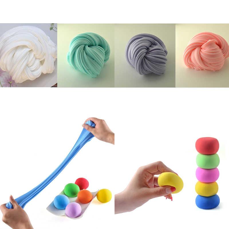 Слизь 30 г/коркор., пушистая пенопластовая глина, товары для творчества, светильник кие мягкие хлопковые шармы, слизь, пушистый игрушечный набор, облако, детские игрушки, подарки для детей