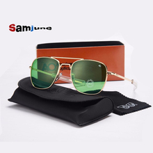 Fashion Aviation Sunglasses Men Brand Designer AO Sun Glasse