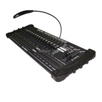 DMX контроллер этап световое оборудование DMX 384 Интеллектуальное освещение контроллер свет этапа консоль для перемещения головы с подсветко...